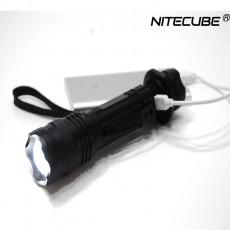 나이트큐브 NC01 CREE XM-L2 USB충전식 LED후레쉬